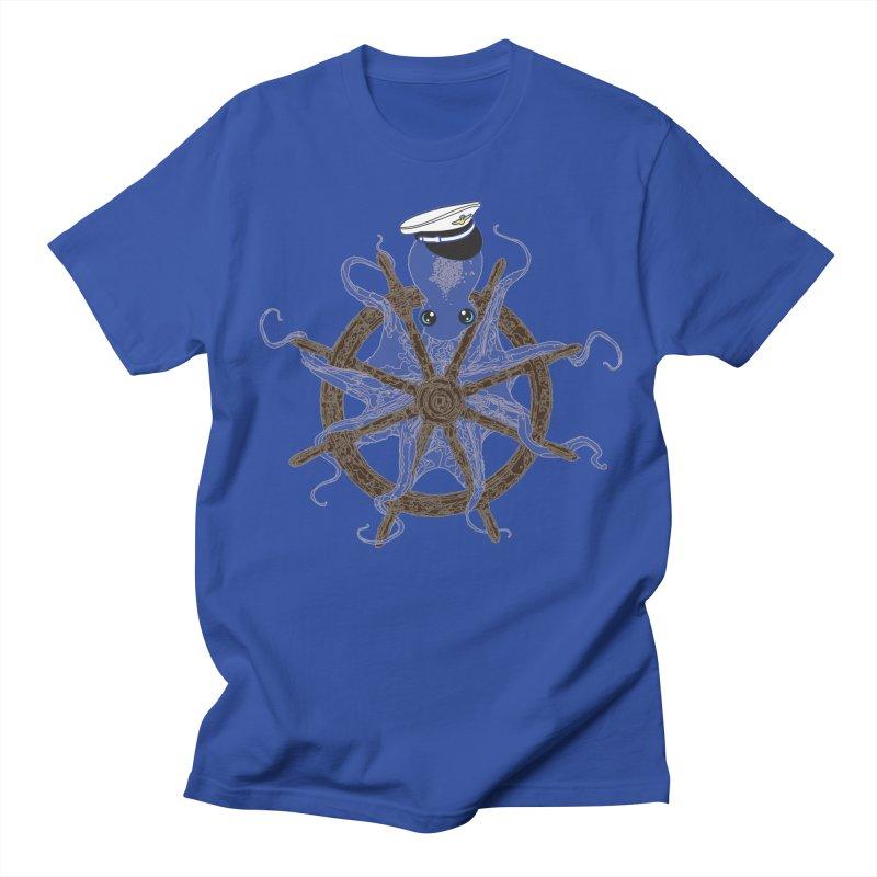 Octopus Captain Men's Regular T-Shirt by