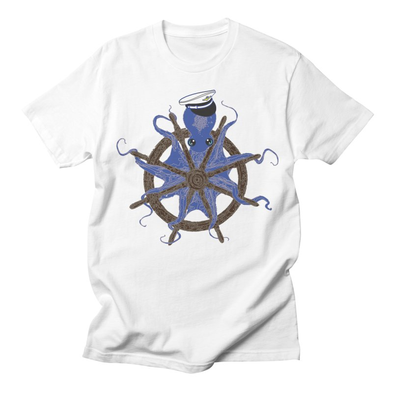 Octopus Captain Men's Regular T-Shirt by