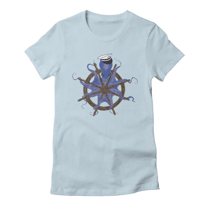 Octopus Captain Women's T-Shirt by