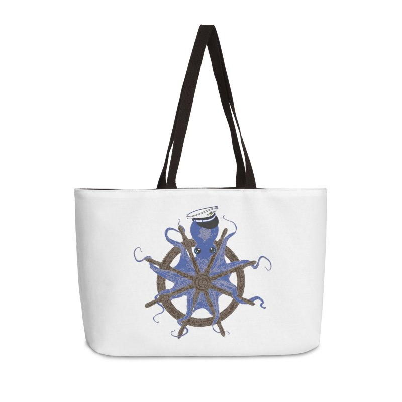 Octopus Captain Accessories Weekender Bag Bag by