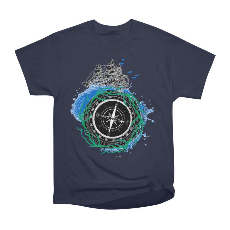 Uncharted Voyage Men's Heavyweight T-Shirt by