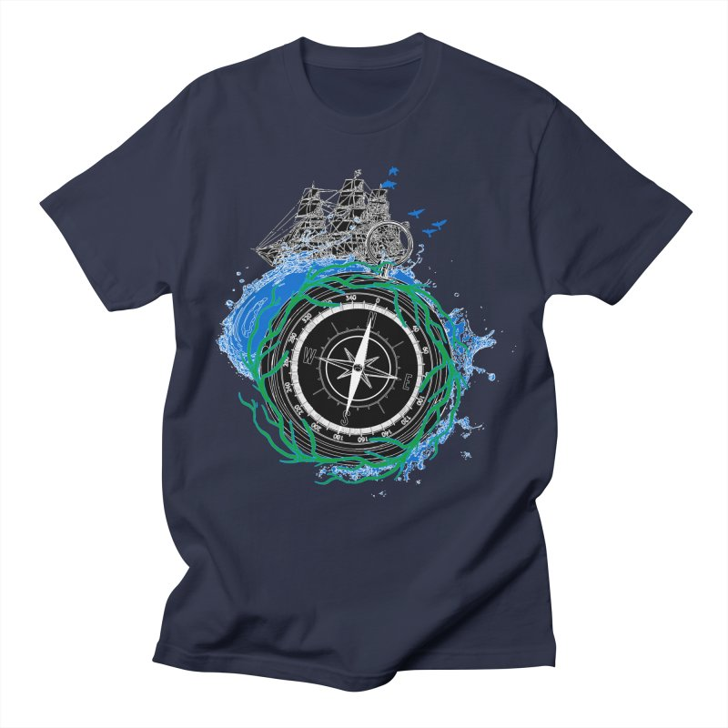Uncharted Voyage Men's Regular T-Shirt by