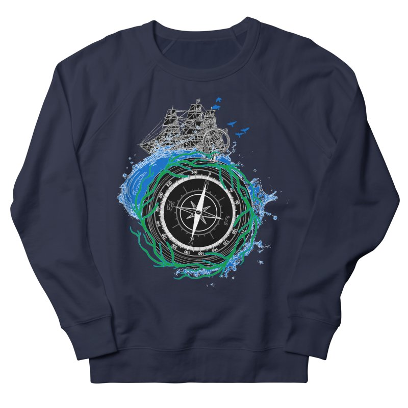 Uncharted Voyage Men's French Terry Sweatshirt by