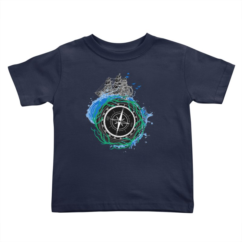 Uncharted Voyage Kids Toddler T-Shirt by