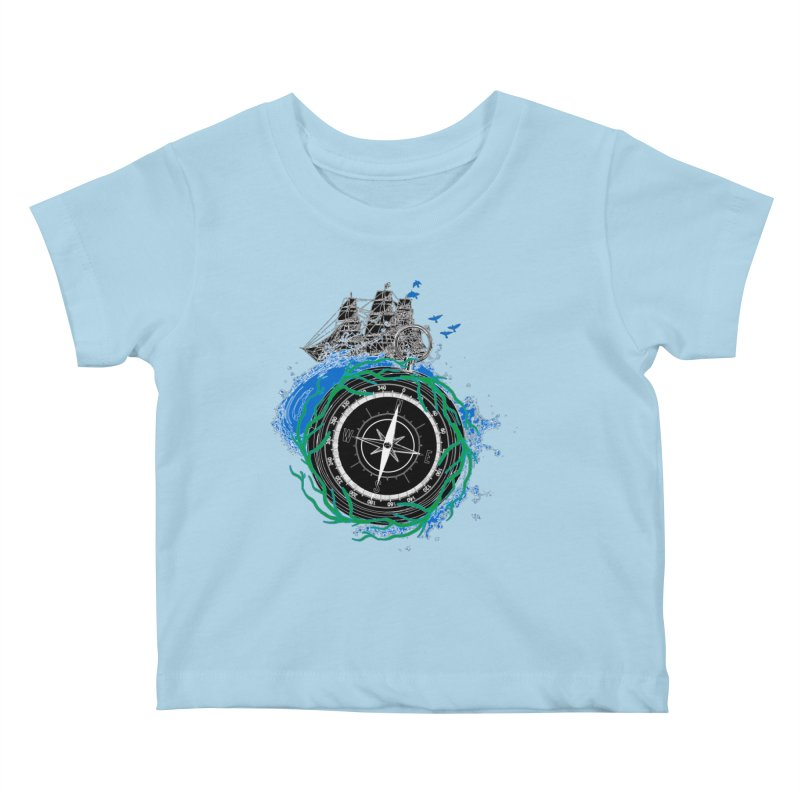 Uncharted Voyage Kids Baby T-Shirt by
