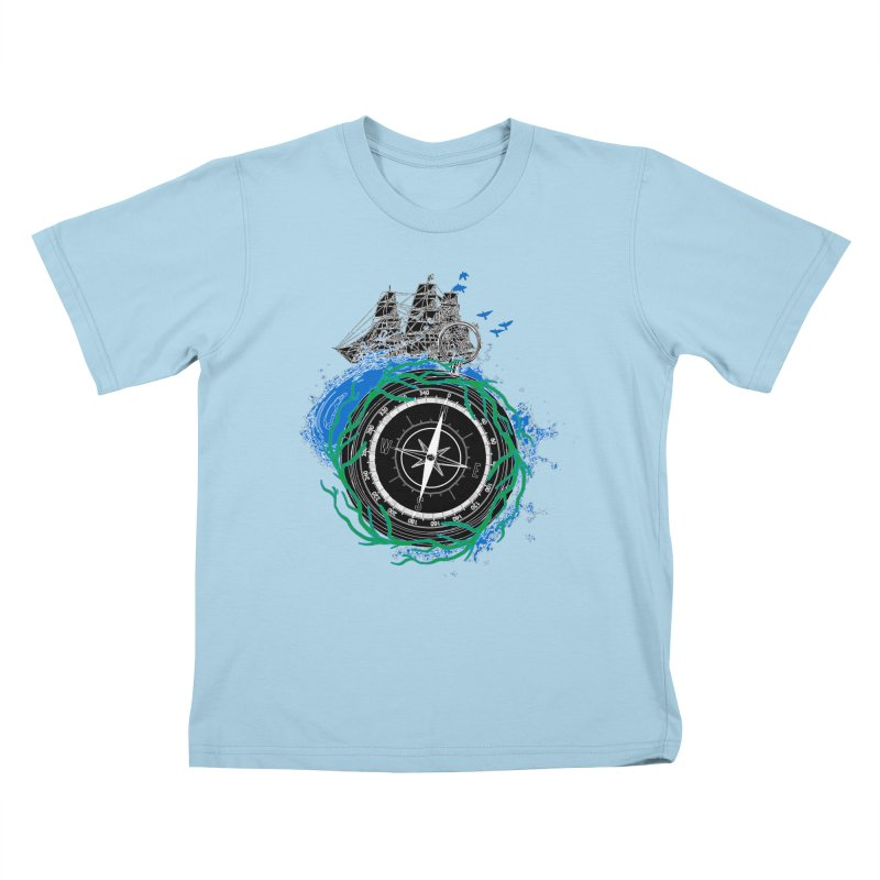 Uncharted Voyage Kids T-Shirt by
