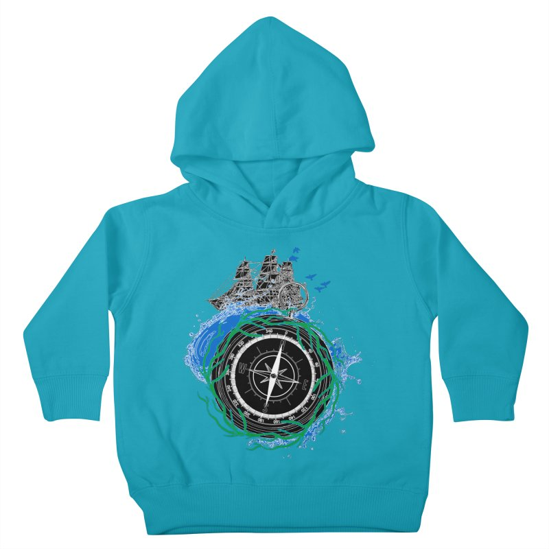 Uncharted Voyage Kids Toddler Pullover Hoody by