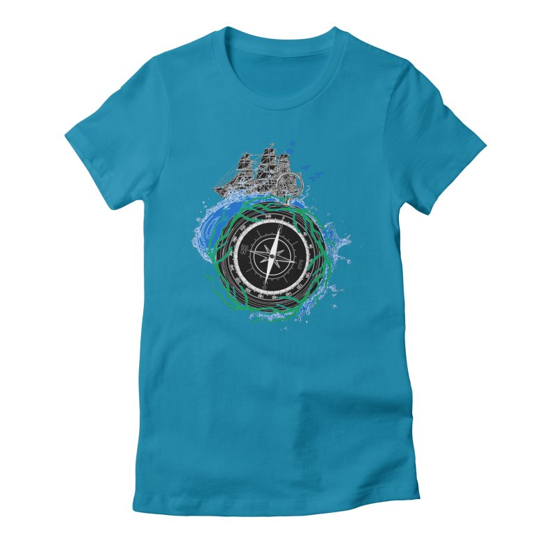 Uncharted Voyage Women's Fitted T-Shirt by