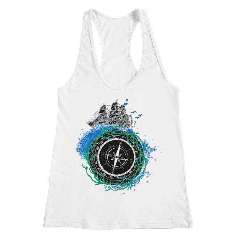 Uncharted Voyage Women's Racerback Tank by