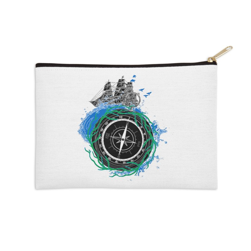 Uncharted Voyage Accessories Zip Pouch by