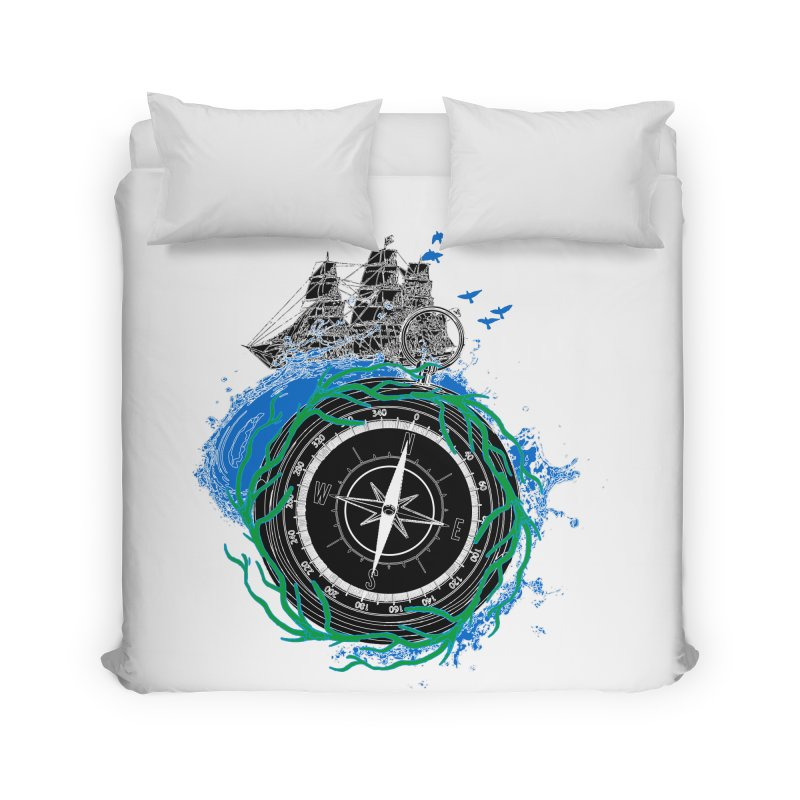 Uncharted Voyage Home Duvet by