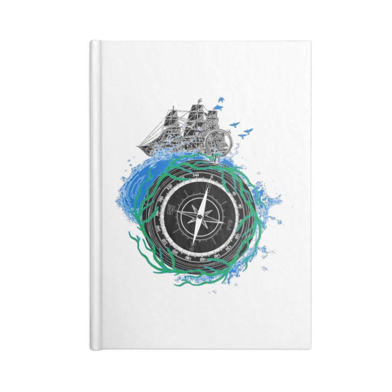 Uncharted Voyage Accessories Blank Journal Notebook by