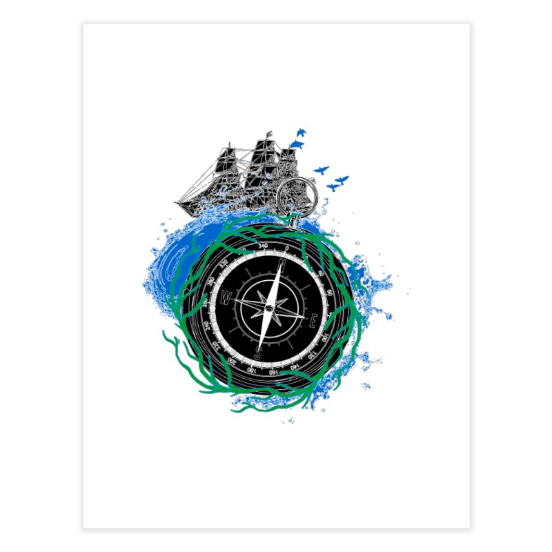 Uncharted Voyage Home Fine Art Print by