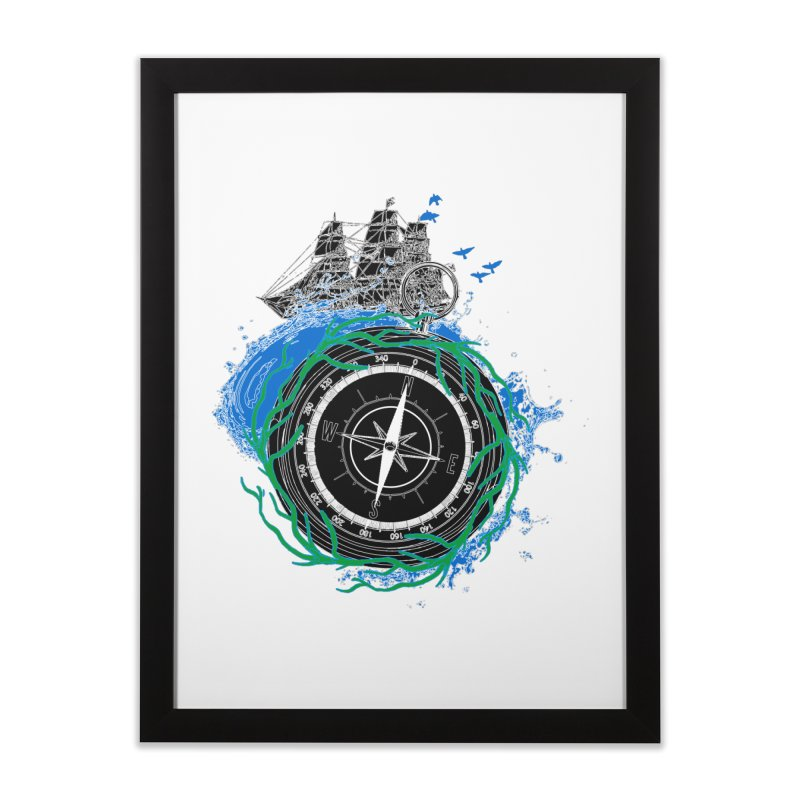 Uncharted Voyage Home Framed Fine Art Print by