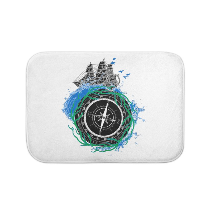Uncharted Voyage Home Bath Mat by