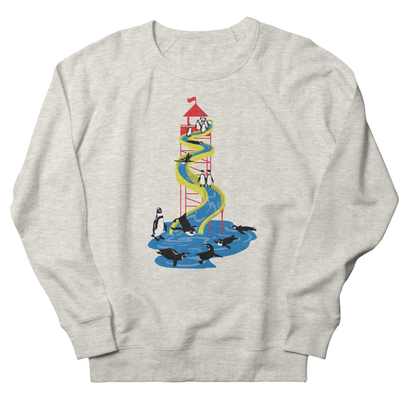 Penguin Waterslide Men's Sweatshirt by