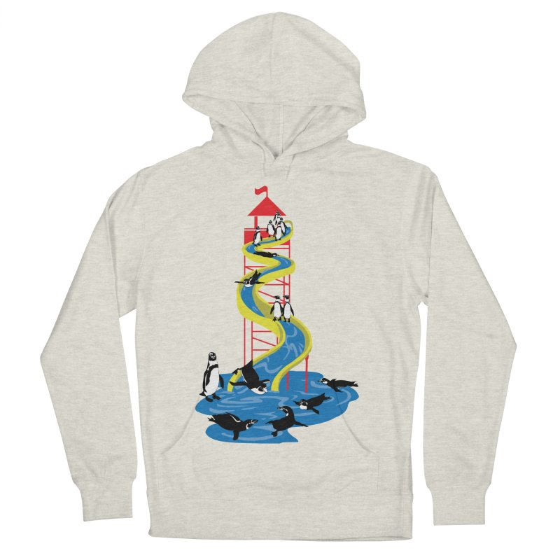 Penguin Waterslide Men's French Terry Pullover Hoody by