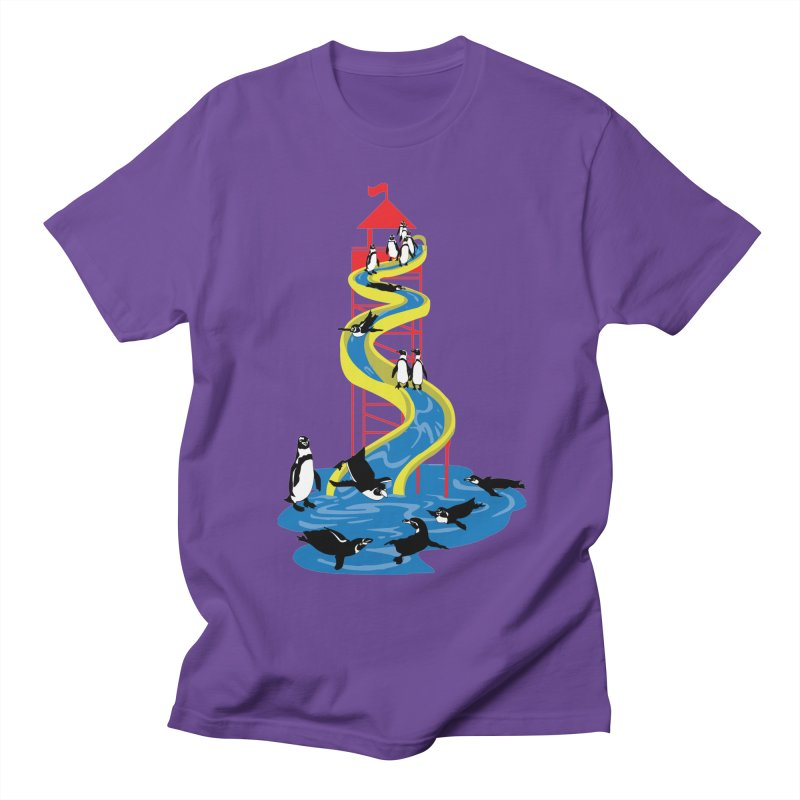 Penguin Waterslide Men's T-Shirt by