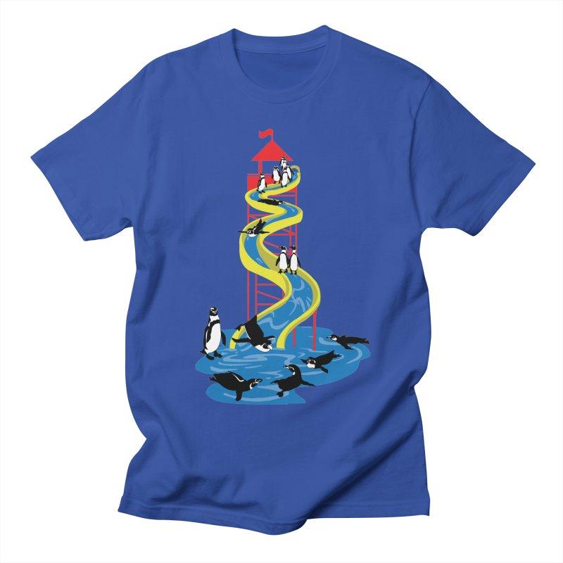 Penguin Waterslide Men's Regular T-Shirt by