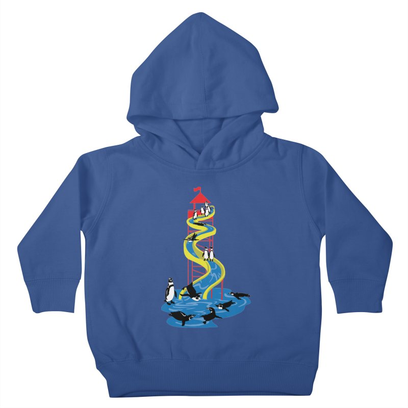 Penguin Waterslide Kids Toddler Pullover Hoody by