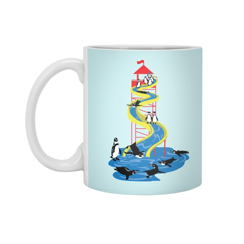 Penguin Waterslide Accessories Standard Mug by