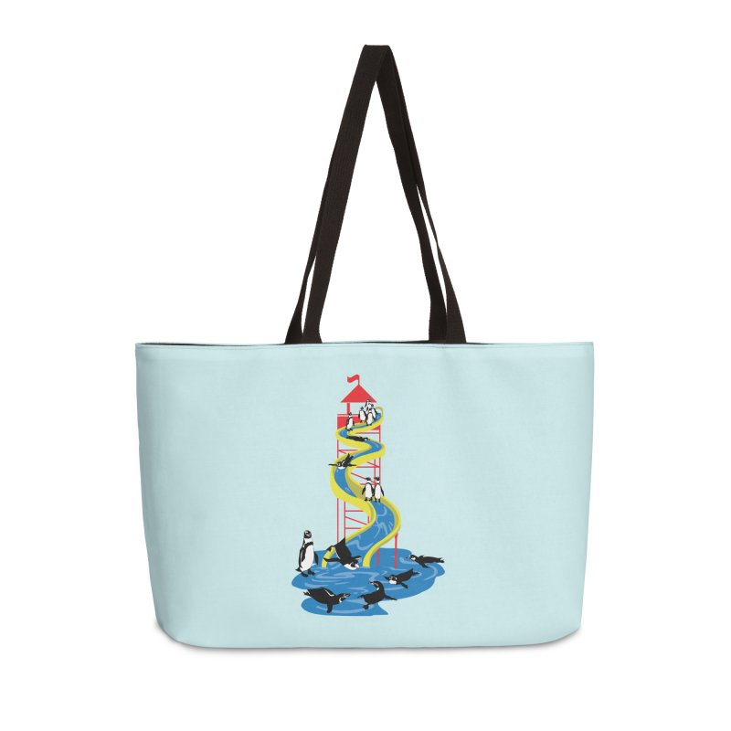 Penguin Waterslide Accessories Weekender Bag Bag by