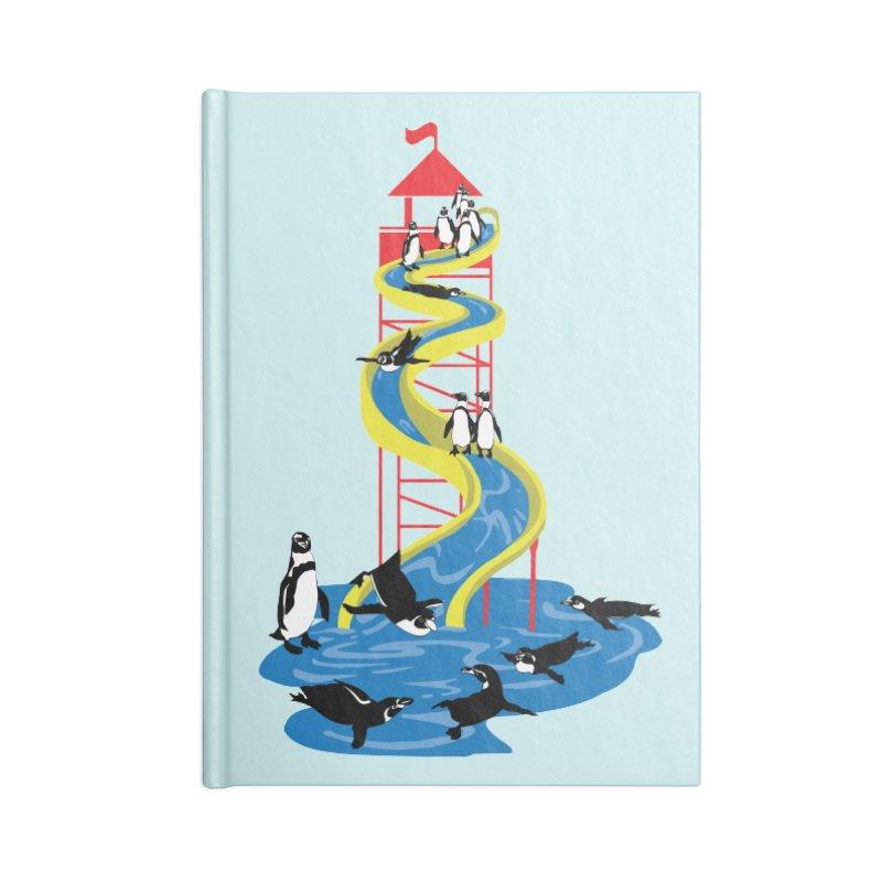 Penguin Waterslide Accessories Notebook by