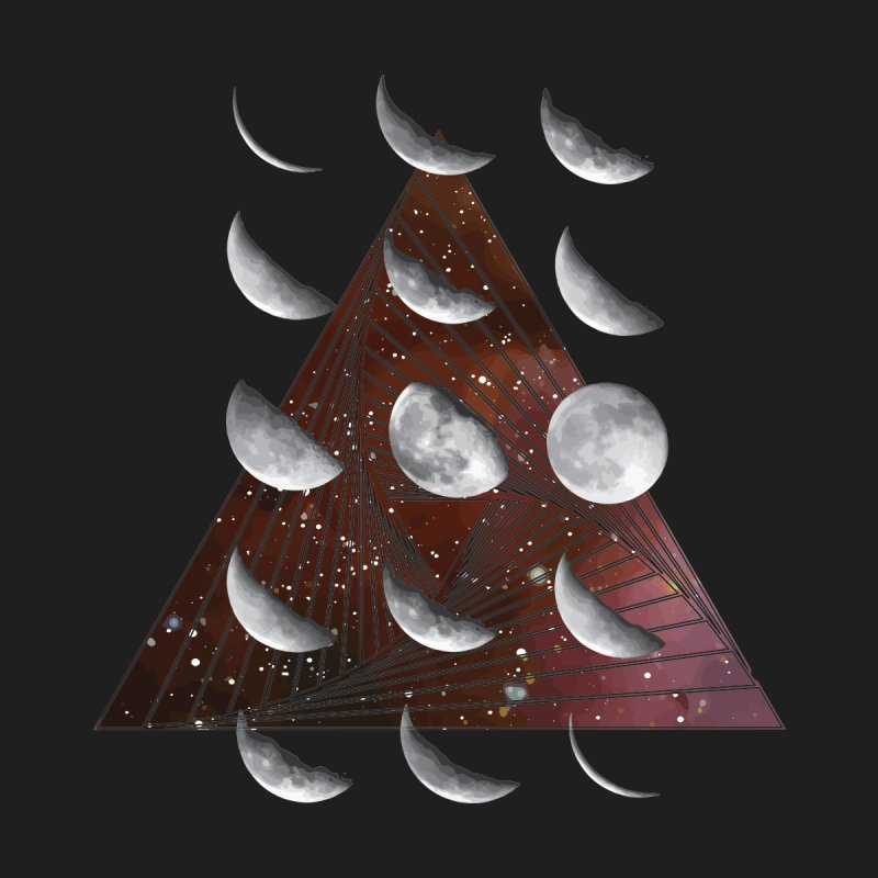 Lunar Vortex Men's Triblend T-Shirt by
