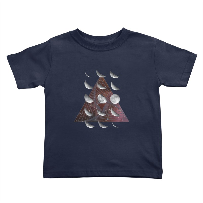 Lunar Vortex Kids Toddler T-Shirt by