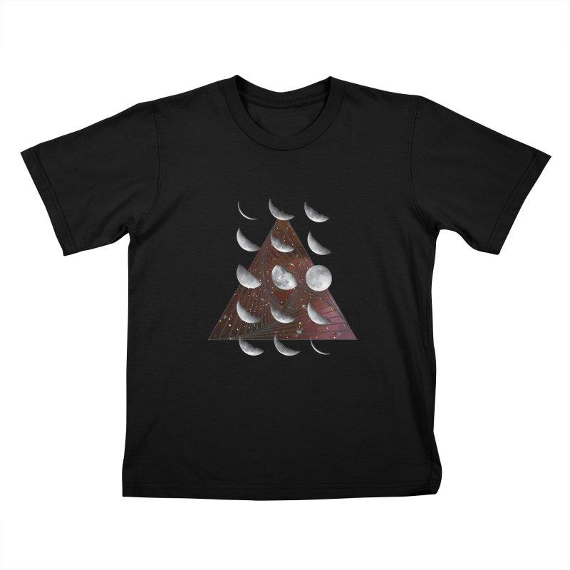 Lunar Vortex Kids T-Shirt by