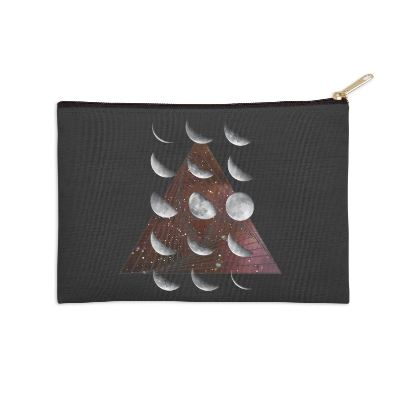 Lunar Vortex Accessories Zip Pouch by