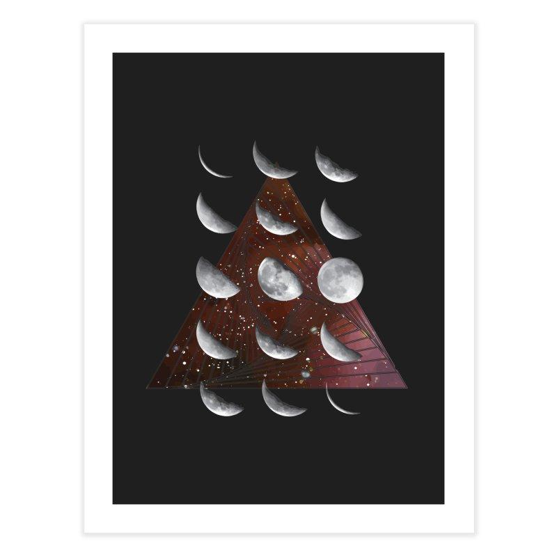 Lunar Vortex Home Fine Art Print by