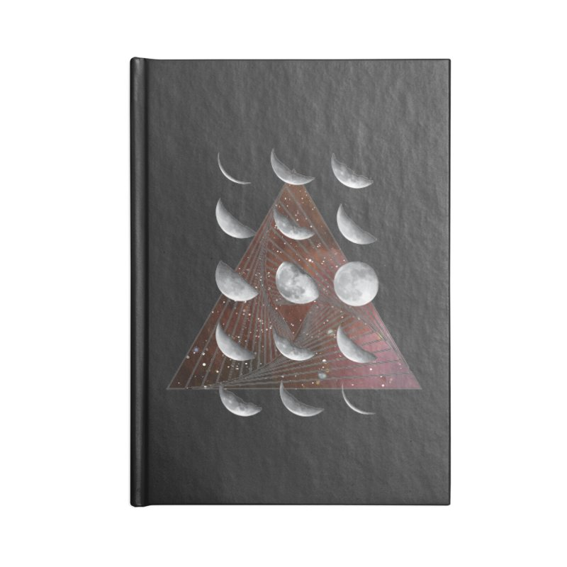 Lunar Vortex Accessories Lined Journal Notebook by