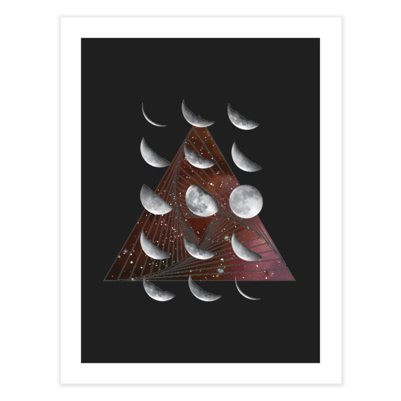 Lunar Vortex Home Fine Art Print by