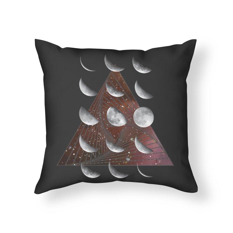 Lunar Vortex Home Throw Pillow by
