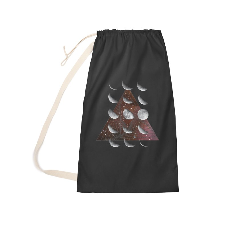 Lunar Vortex Accessories Laundry Bag Bag by