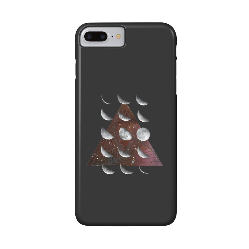 Lunar Vortex Accessories Phone Case by