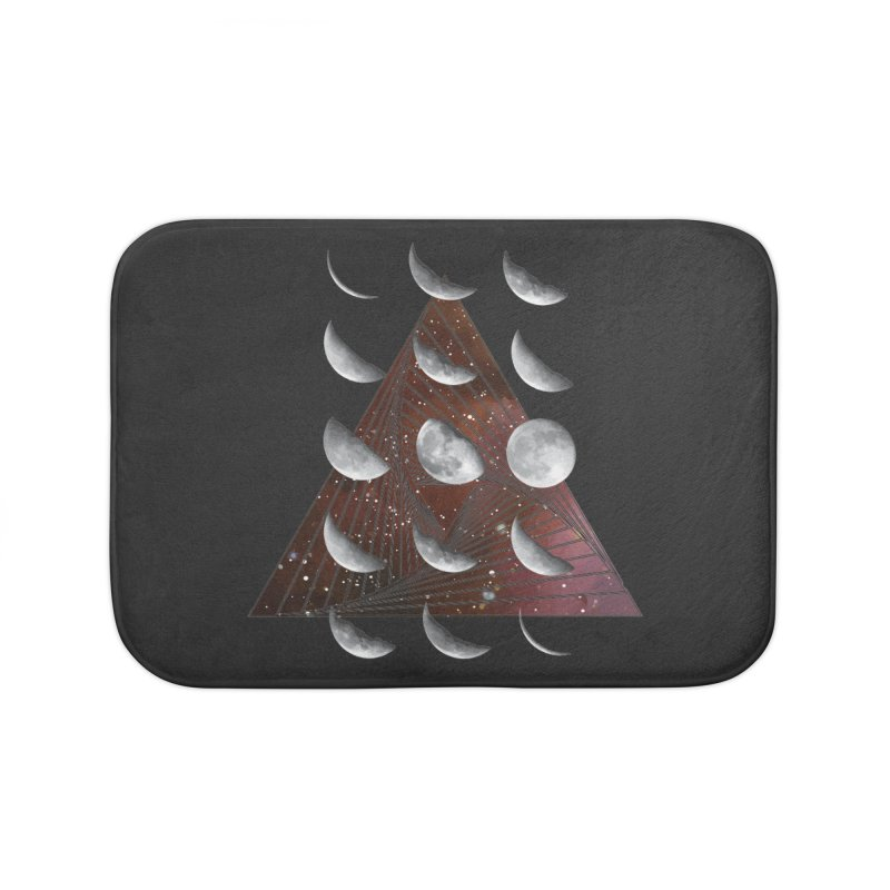 Lunar Vortex Home Bath Mat by