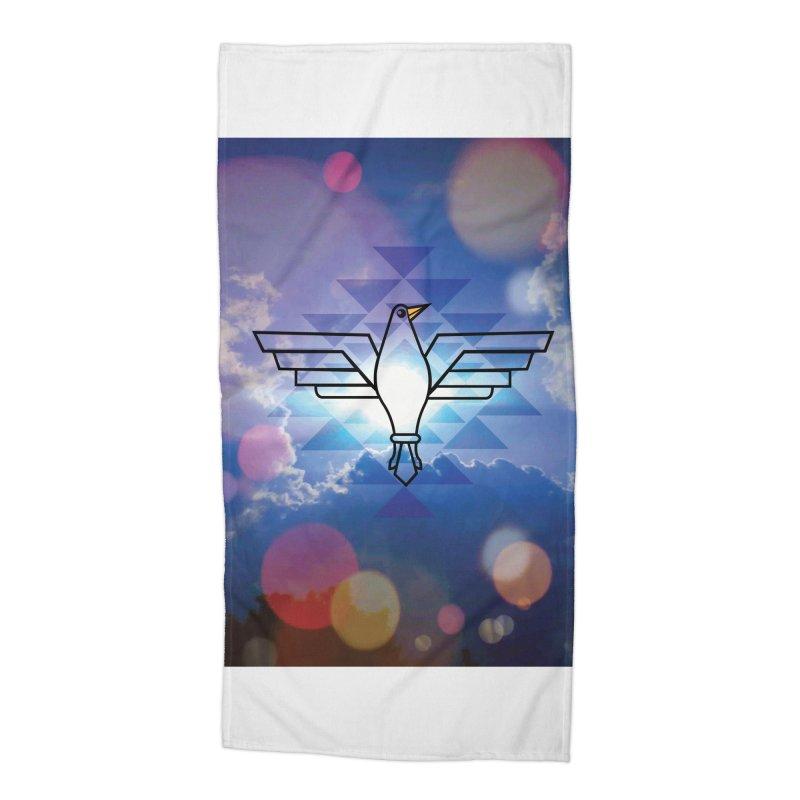 The Warrior Bird Accessories Beach Towel by