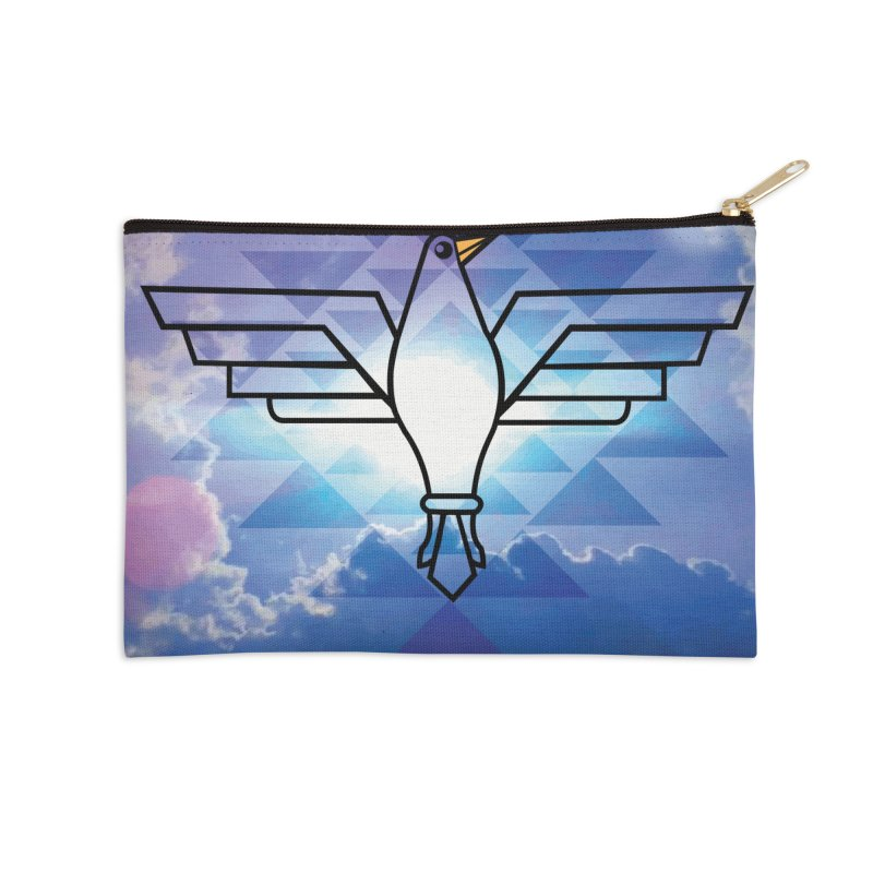 The Warrior Bird Accessories Zip Pouch by