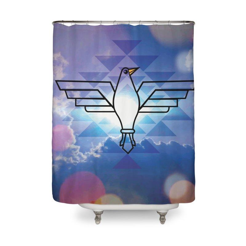 The Warrior Bird Home Shower Curtain by