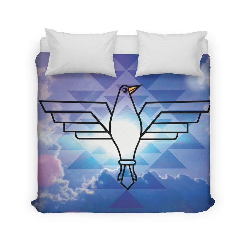 The Warrior Bird Home Duvet by