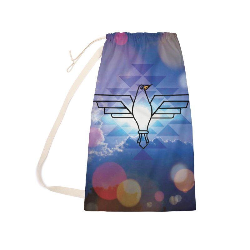 The Warrior Bird Accessories Laundry Bag Bag by