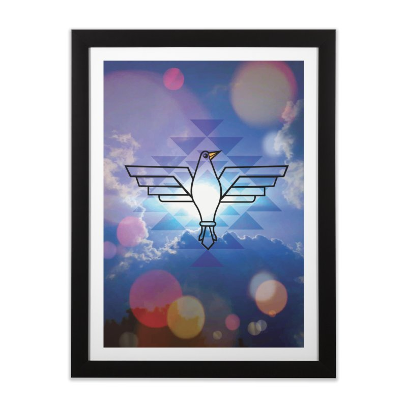 The Warrior Bird Home Framed Fine Art Print by