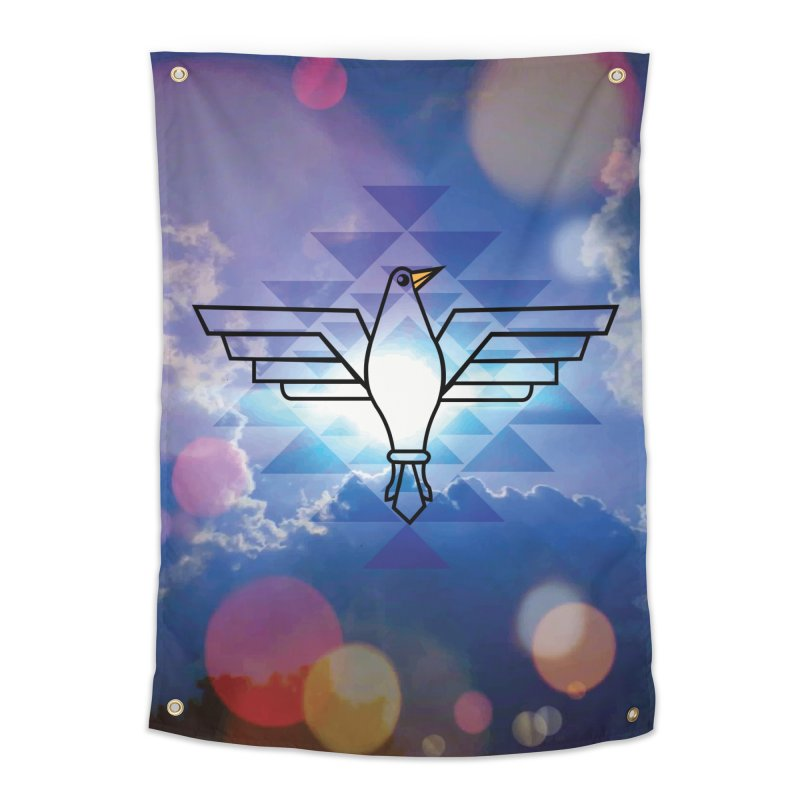 The Warrior Bird Home Tapestry by