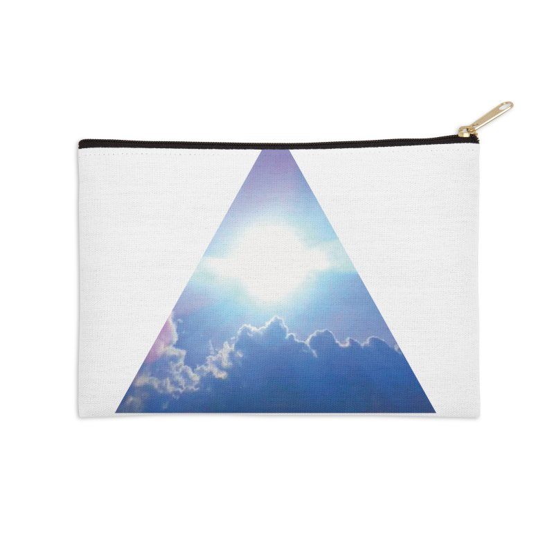 Up in the Clouds Accessories Zip Pouch by