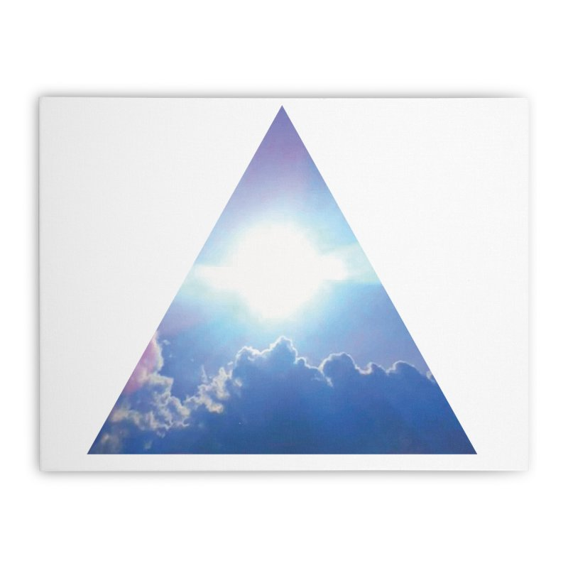 Up in the Clouds Home Stretched Canvas by