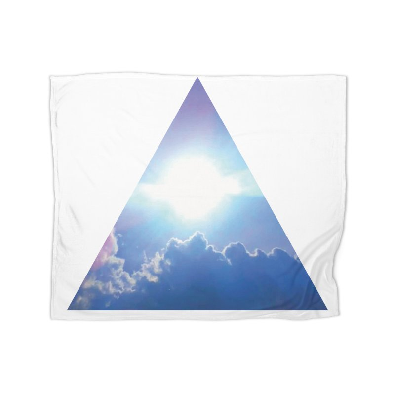 Up in the Clouds Home Fleece Blanket Blanket by