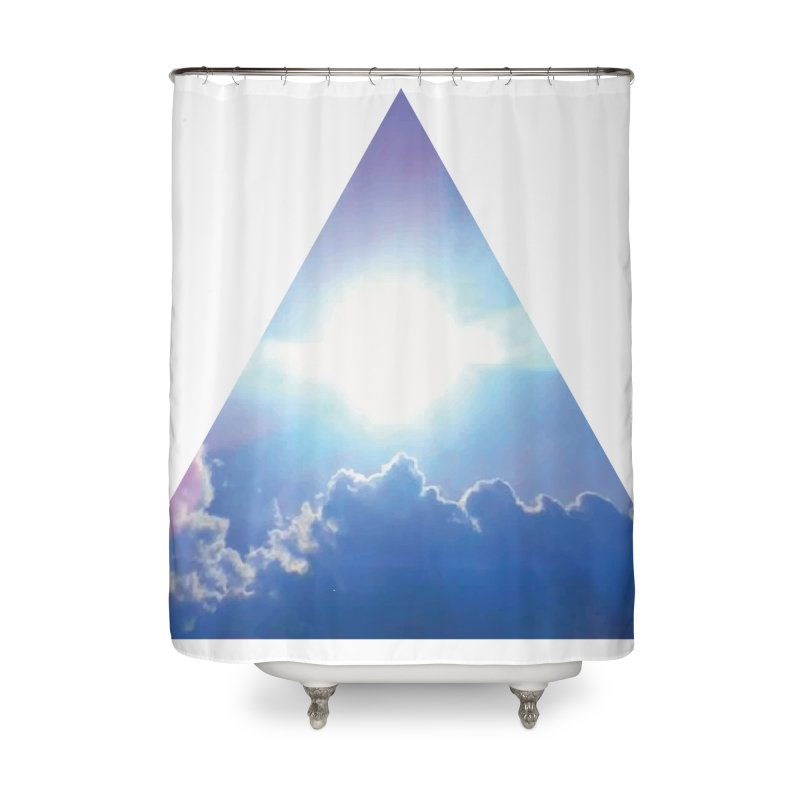 Up in the Clouds Home Shower Curtain by
