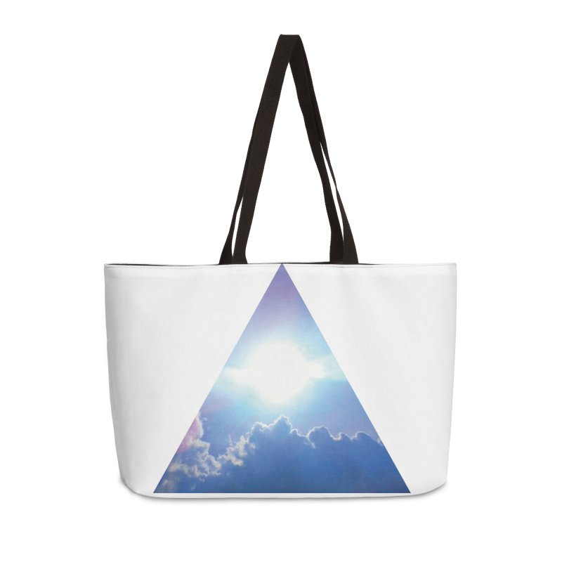 Up in the Clouds Accessories Weekender Bag Bag by